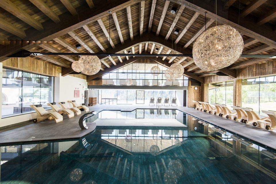 Hotel 4 stelle alta badia arthotel cappella colfosco - Hotel corvara con piscina ...